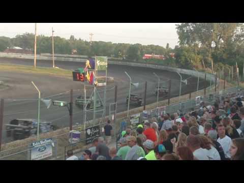 Redwood Speedway Sport Mod feature 7/31/16 part 1