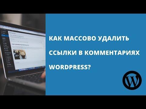 WordPress убрать ссылку на сайт в комментариях