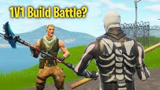 Turning fill on in Playground and Build battling NOOBS.. (Fortnite)