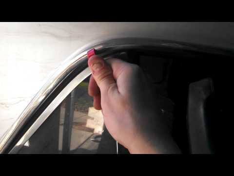 How To Remove Drip Rail Trim Molding On A Classic 1965 Mustang