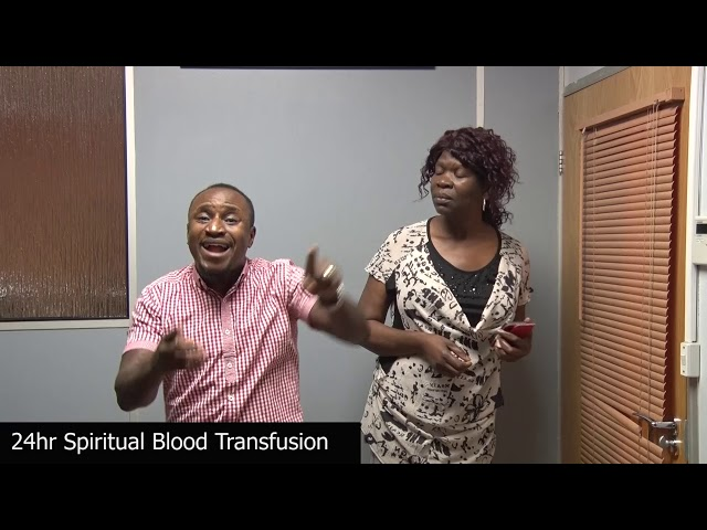 24hr spiritual blood transfusion