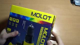 Обзор Дрель-шуруповерт Molot MDR 1013