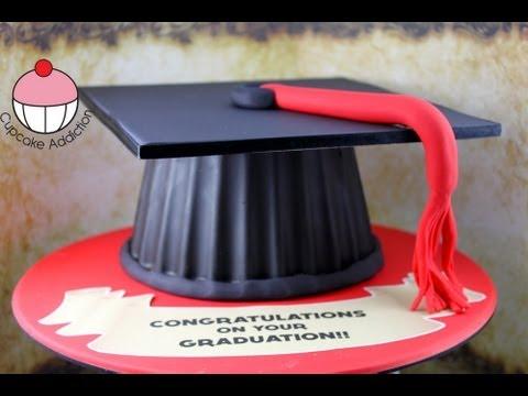 How To Make A Graduation Cap Cake