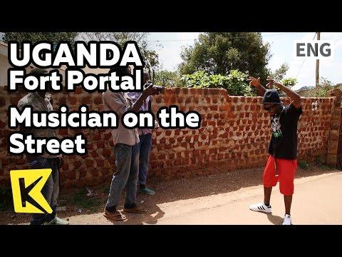 【K】Uganda Travel-Fort Portal[Uganda 여행-포트포탈]길에서 만난 뮤지션/Musician/Street/Singer
