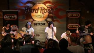 "Asking Alexandria performing ""I Won't Give In"" (Acoustic) at the WRIF Rock Girl Finals"
