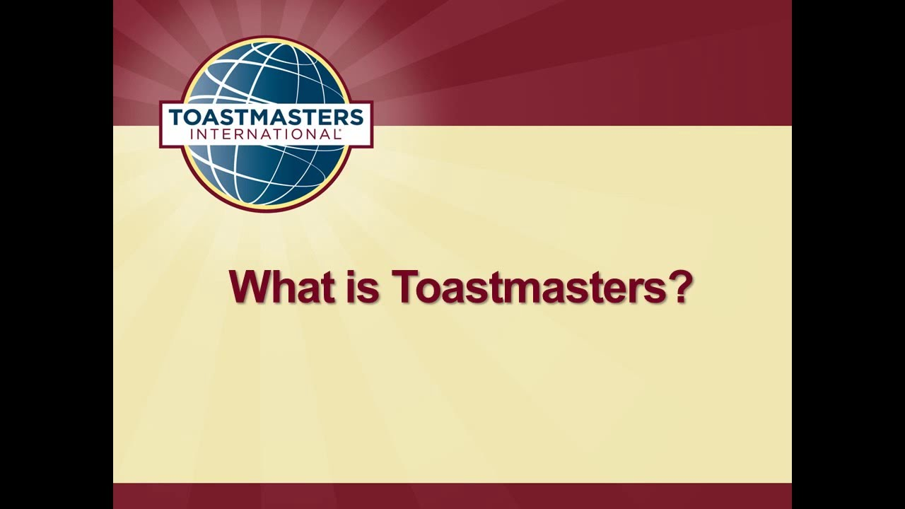 what is toastmasters - Yeni.mescale.co
