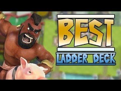 Clash Royale / Mit nye hog Ladder deck