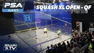 Squash: 2018 Squash XL Open - Quarter Finals