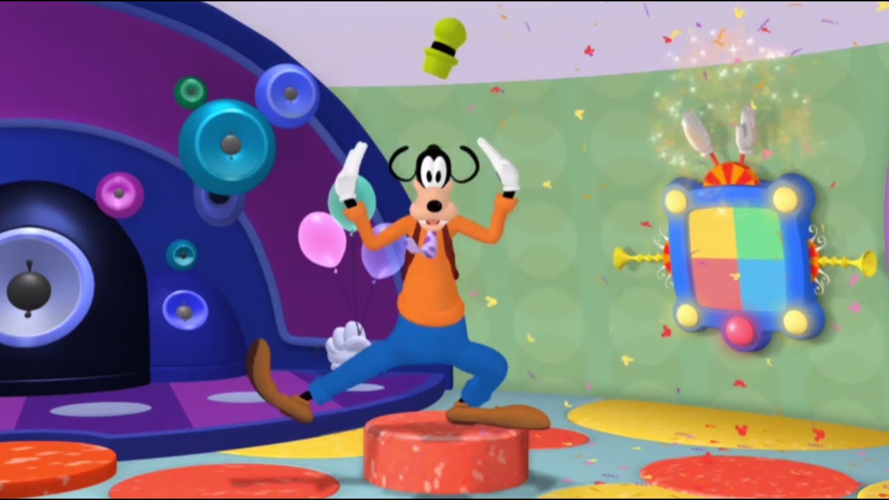 Disney Tous En Forme Woogie Boogie La Folle Danse De Dingo