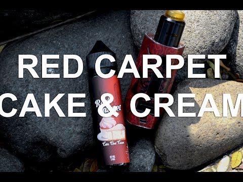 RED CARPET - CAKE and CREAM eLiquid #QUICKREVIEW #LOKAL