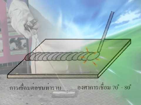 งานเชื่อมไฟฟ้าด้วยลวดเชื่อมหุ้มฟลั๊ก ม.3 ชุดที่ 5