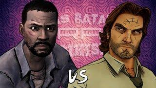 Lee Everett vs Bigby Wolf. Épicas Batallas de Rap del Frikismo | Keyblade