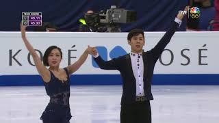 2017 Worlds   Pairs   SP   Wenjing Sui & Cong Han   Blues for Klook by Eddy Louis