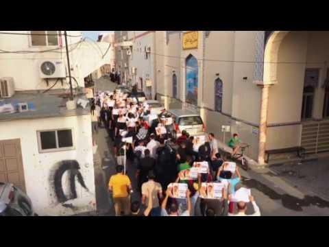 مسيرة في بلدة كرباباد وفاءا للشهيد مصطفى حمدان 24/3/2017 Bahrain