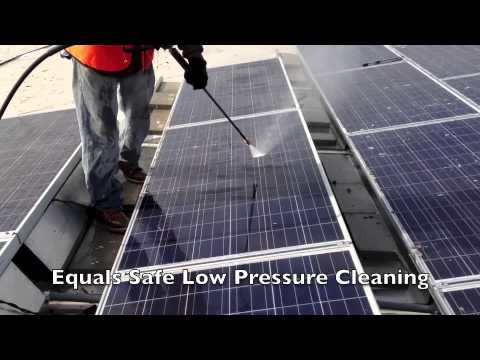 Solar Panel Cleaning 877-420-WASH | New Jersey Power Washing