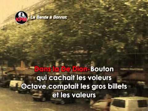 La Bande À Bonnot Karaoké - Joe Dassin*