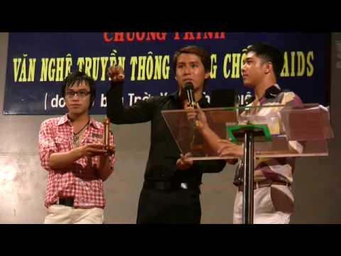 Condom demonstration in Ho Chi Minh City, Vietnam
