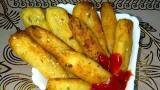 Простой рецепт из картофеля Картофельные палочки чипсы Лучше картошки фри Просто и доступно