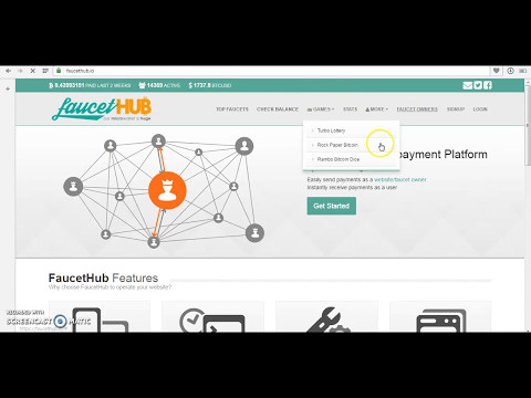 How To Create  FAUCETHUB Account.......and Attach Btc Receive ID