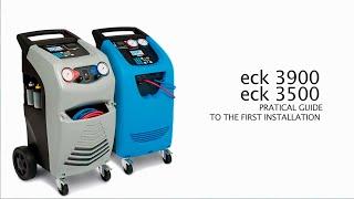ECK 3900, Установка для заправки кондиционеров от ECOTECHNICS(ECK 3900-UP с автоматическими клапанами выполняет весь цикл обслуживания в автоматическом режиме, руководствуя..., 2015-11-02T09:58:12.000Z)