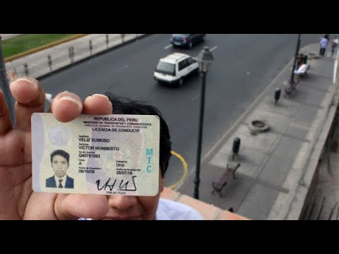 Licencias para conducir: estas son las modificaciones al reglamento
