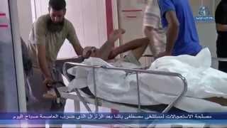 مصلحة الاستعجالات لمستشفى مصطفى باشا بعد الزلزال الذي ضرب العاصمة