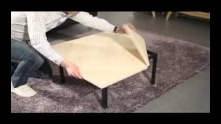 마티노가구 크기조절 소파테이블 겸 좌식테이블