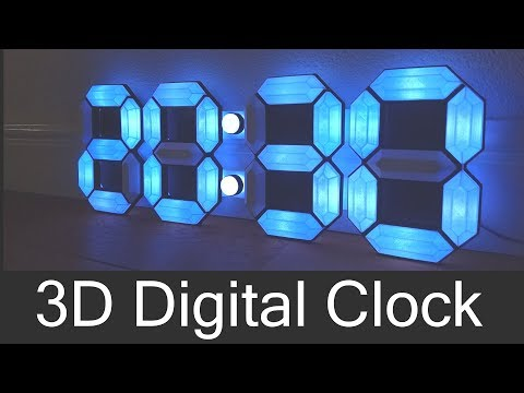 3D Digital Clock