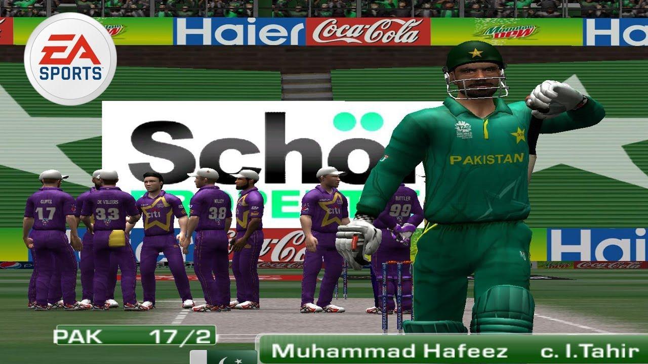 Pakistan Vs World Xi Ea Sports Cricket 2017 Gameplay