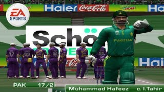 Pakistan vs World XI EA Sports Cricket 2017 GamePlay