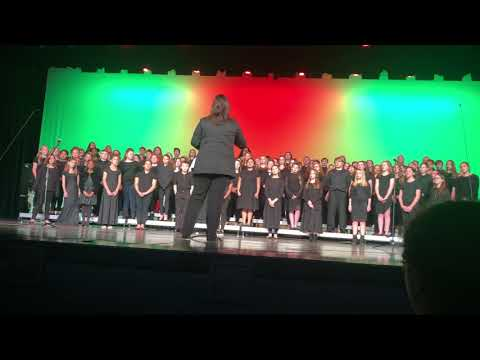 Hancock middle school chorus