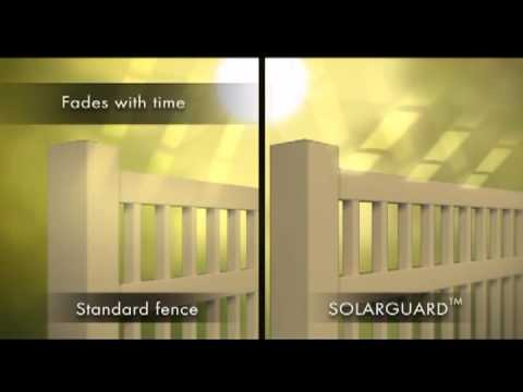 SolarGuard - ActiveYards Vinyl Fence