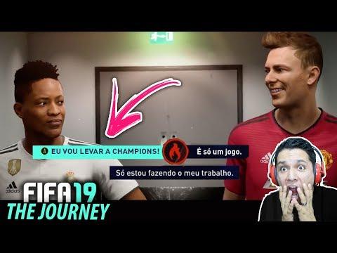 FIFA 19 THE JOURNEY!! TRAILER NOVO REVELA DETALHE INÉDITO! Legendado 🔥