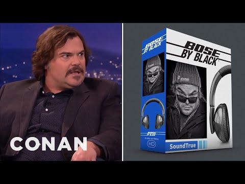 Jack Black's Billion Dollar Idea: Bose By Black Headphones  - CONAN on TBS