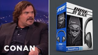 Jack Black's Billion Dollar Idea: Bose By Black Headphones  - CONAN on TBS