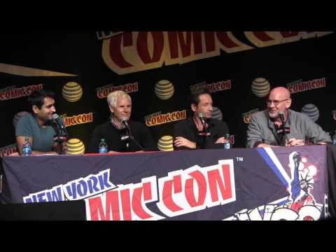 The X Files Full Panel NYCC 2015 Chris Carter, David Duchovny, Mitch Pileggi