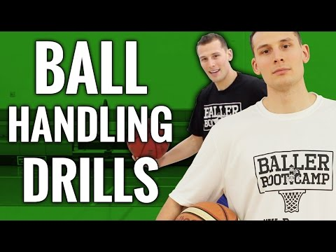 12 KILLER Basketball Ball Handling Drills FOR BALLERS | How To Get Handles