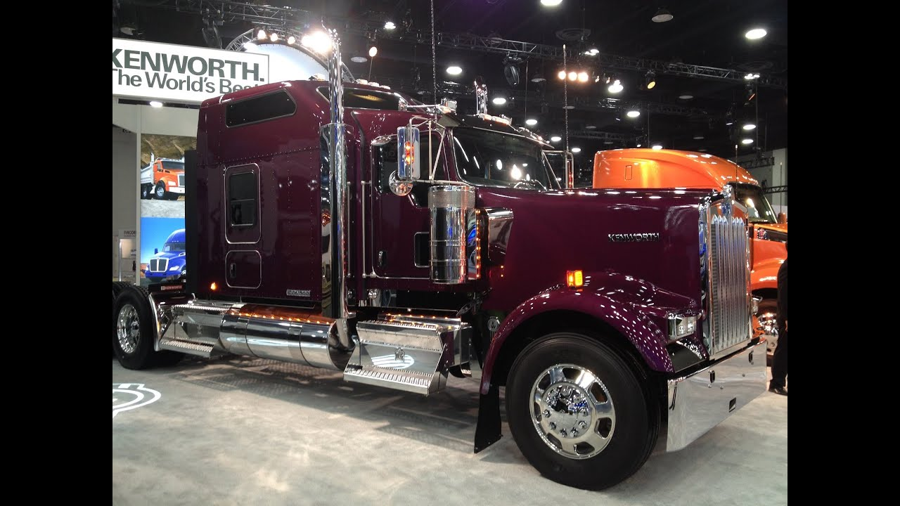 first look at the new kenworth icon 900 a 25th. Black Bedroom Furniture Sets. Home Design Ideas