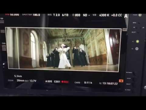Съемки нового клипа Анны Плетнёвой