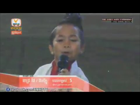 The voice kid Cambodia- Pich Thai - live...