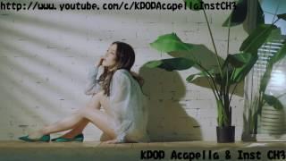 [Acapella] Kim Chung Ha (김청하) - Week (월화수목금토일)
