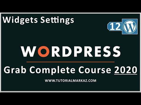12 WordPress Tutorial for Beginners in Urdu 2020 | Wordpress Widgets Tutorial Mentor Online thumbnail