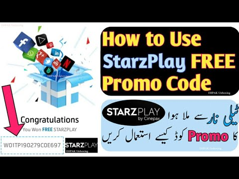 How To Use StarzPlay FREE Promo Code Who Get From My Telenor App 2019| Free Starzplay Subscription