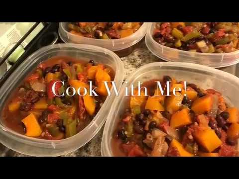 Cook With Me! | Hungry Girl's Slow Cooker Butternut Black Bean Chili - 0 SP