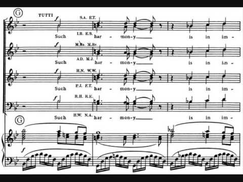 Ralph Vaughan Williams - Serenade to Music