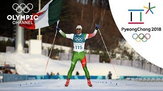 Madrazo cheered by Cross Country competitors at the finish line | Winter Olympics 2018 | PyeongChang