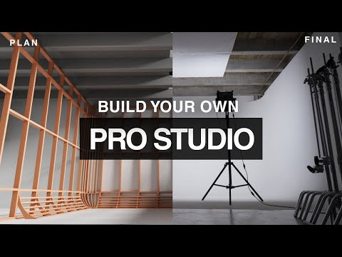 Tutorial: How To Build Your Own Photo Video Studio On A Budget