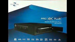 Dune HD Pro 4K Plus - розпакування, зовнішній вигляд