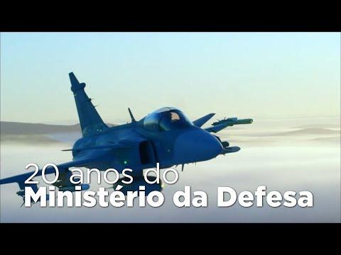 Bolsonaro comemora os 20 anos do Ministério da Defesa