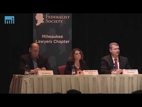Wisconsin Supreme Court Candidate Stake Out Positions During Milwaukee Forum